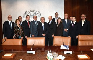 Meeting with the UN Secretary-General